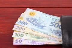 Venezuelanska pengar från den nya serien i den svarta plånboken