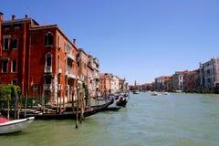 Venezzia vattenväg Royaltyfri Bild