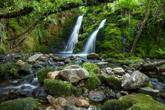 Venford Brook Falls Royalty Free Stock Images