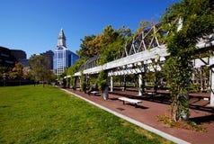 Venga por favor a Boston Imagen de archivo