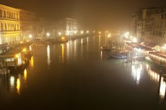 Venica Grand Canal Royalty Free Stock Photos