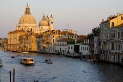 Venice 1. View along the Grand Canal Royalty Free Stock Images