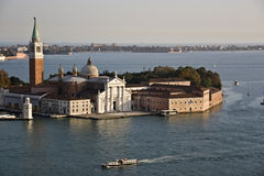 Venice. Islands and boats and sea Royalty Free Stock Photos