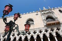 герцогский дворец venice Италии Стоковое Изображение