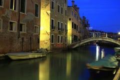 Venice. Corners of Venice at dusk Royalty Free Stock Photo