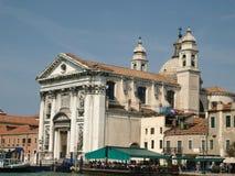 Venice. The Church of I Gesuati (Sta Maria del Rosario) on the Zattere in Venice Stock Images