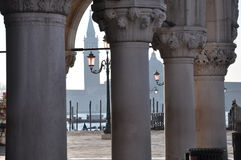 герцогский дворец venice Стоковая Фотография