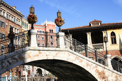 Venice. Blue sky, Venice architecture buildings Stock Photos