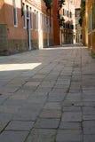 Venice 2. A street in Venice Stock Image