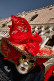 Venice. Carnival mask on the makus place in venice Stock Photography