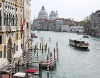 Venice. View of Venice, Canal Grande Stock Image