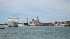 Venice. The Basilica di Santa Maria della Salute Royalty Free Stock Photography