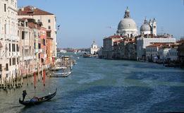Venice. View of the Grand Canal in Venice, Italy Royalty Free Stock Image