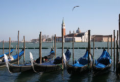 Venice. View of the Grand Canal in Venice, Italy Stock Photos