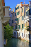 Venice. Typical romantic canal in Venice Royalty Free Stock Photography