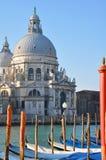 Venice. Basilica Santa Maria Della Salute in Venice, Italy Stock Images