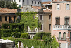 Venice. It is typical architecture of romantic Venice Stock Photo