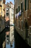 Venice. Reflections in canal Royalty Free Stock Photos