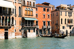 Venice. Canal Grande. Venice in northern italy Royalty Free Stock Photo
