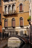Venice. Sight of canal in Italy Stock Photos