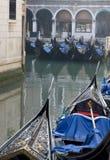 Venice 4. Gondolas on the canal in Venice Royalty Free Stock Photos