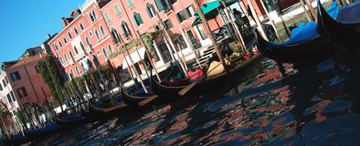 Venice. Along Grand Canal in Venice, Italy Stock Photography