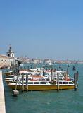 Venice. Some boats at Venice, Italy stock images