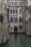 Venice. Very old historical buildings in Venice Stock Image