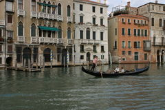Venice. Gondola in Venice Stock Photography