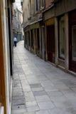 Venice 5. Alleyway in Venice Royalty Free Stock Photos