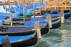 Venice 5. Gondoal details in Venice Royalty Free Stock Image