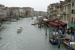 Venice. Grand Canal in Venice, Italy Royalty Free Stock Photo