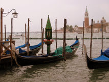 Venice. Glimpses of the romantic city Stock Photos