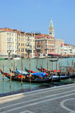 Venice. Photo of venice, his architecture, his canals and his typically vessel called gondola Stock Images