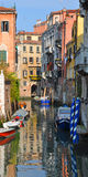 Venice. Photo of Venice, his architecture, his canals and his typically vessel called gondola Stock Image