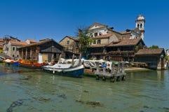 Venice. Photo shoot of Venice from the boat Stock Photo
