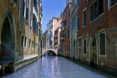 Venice. Photo of Venice taken from a boat Stock Image