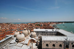 Venice Aerial View 1 Royalty Free Stock Photography