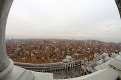Venice, an aerial view Royalty Free Stock Images