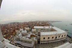 Venice, an aerial view Stock Images