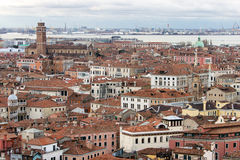 Aerial view on Venice Royalty Free Stock Photography