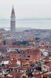 Venice aerial view Royalty Free Stock Photos