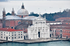 Venice aerial view Royalty Free Stock Image