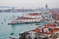 Venice aerial view Stock Images