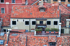 Venice aerial view Royalty Free Stock Photos