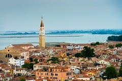 Venice aerial view Stock Photos