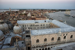 Venice aerial view Royalty Free Stock Images