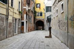 Venice alley Royalty Free Stock Images