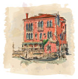 Venice - Ancient building Royalty Free Stock Images