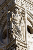 Venice - angel from facade of Doge palace Royalty Free Stock Image
